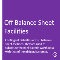 Off Balance Sheet Facilities