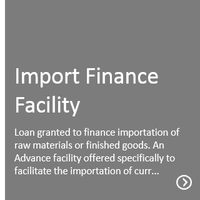 Import Finance Facility