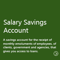 Salary Savings Account